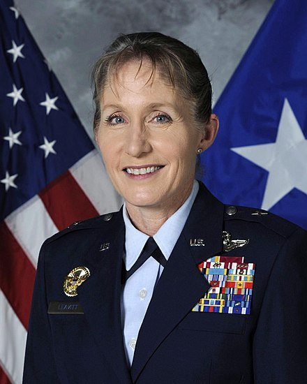 Female Fighter Pilot Jeannie Leavitt