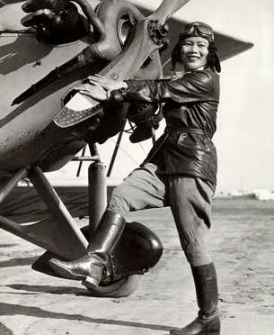 The first Chinese female flyGIRL, Katherine Sui Fun Cheung