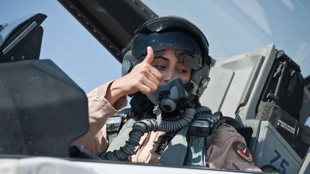 flyGIRL Mariam al-Mansouri